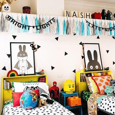 Sis 歐美 框畫 兒童房 掛畫 裝飾 簡約 時尚 嬰兒房 室內設計 IKEA 家飾品 (43*63公分)
