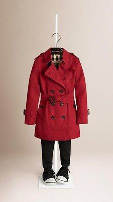 英國專賣店代購 Burberry 大童女生版 風衣