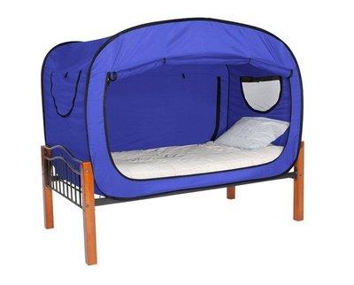 『格倫雅』帳篷 大學生宿舍神器單人隱私帳篷可折疊蚊帳室內床上用保暖帳速開^5780