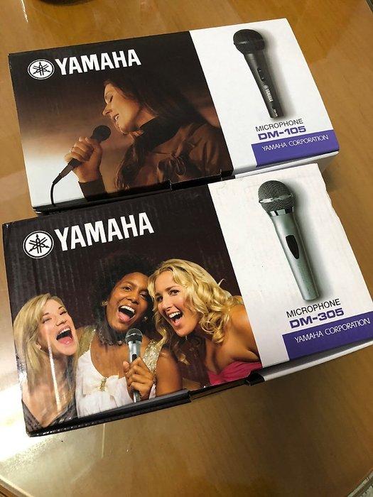 全新 Yamaha DM-305 動圈式麥克風KTV 舞台音響設備 專業PA器材送166種音效軟體