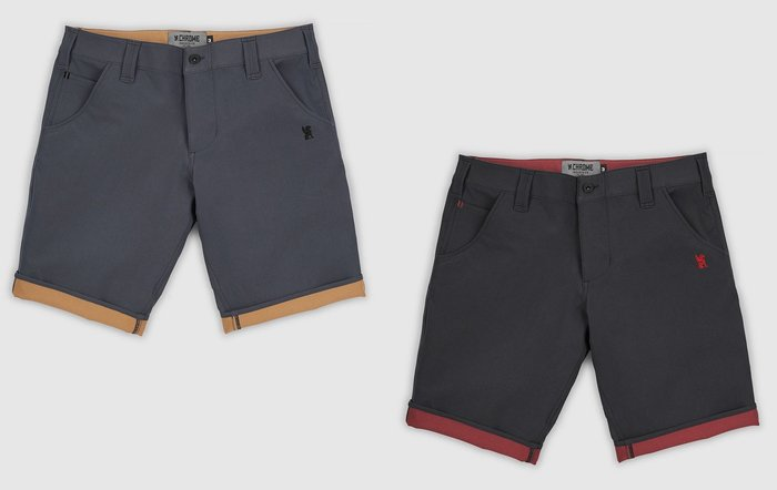 { POISON } CHROME NATOMA SHORT-S 高耐力四面伸縮彈性 立體剪裁 速乾面料 反折短褲