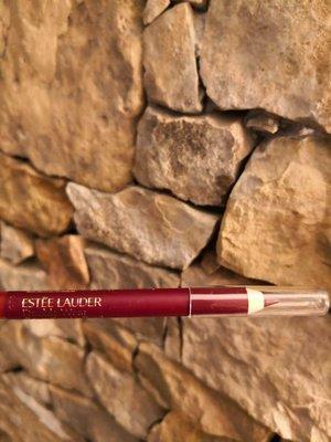 大莊姐姐加拿大專柜雅詩蘭黛套裝拆出wine酒紅色唇線筆