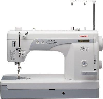 SED鴿子:車樂美 JANOME 仿工業平車縫紉機 1600PQC