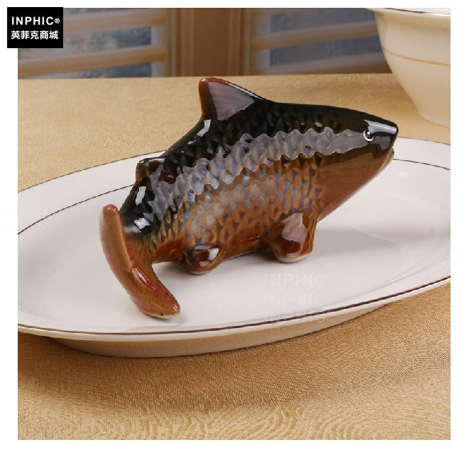 INPHIC-中式餐廳飯店餐具套裝骨瓷炒菜盤陶瓷魚盤子12吋餐盤橢圓_S00669C
