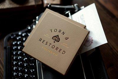 [魔術魂道具Shop]美國Theory11原廠~~Torn & Restored Transpo
