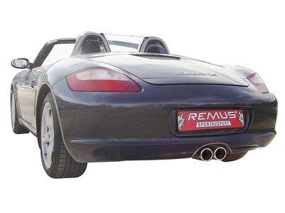奧地利 Remus Sport Exhaust 排氣管 尾段 Porsche 保時捷 Cayman S 987 專用
