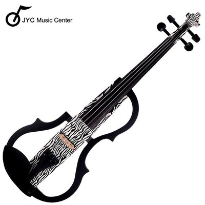 JYC Music 高階SV-150斑馬紋靜音提琴(雙輸出/三段EQ) 限量!!