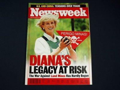 【懶得出門二手書】英文雜誌《Newsweek》DIANA'S LEGACY AT RISK  1999.3.8 (無光碟)│(21F32)