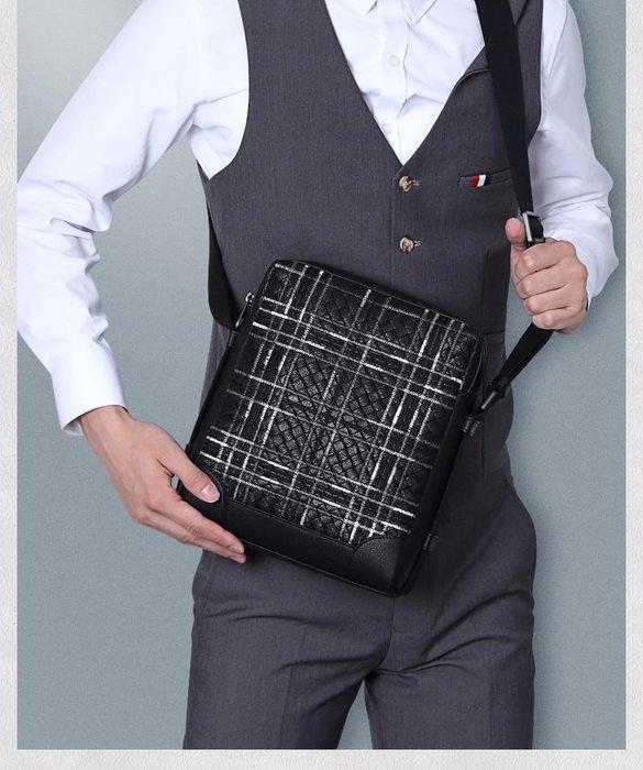 側背包 真皮包包 羊皮手工編織 免運費 單肩包 電腦包 斜背包 公事包 KH D 5011【FQ包包】