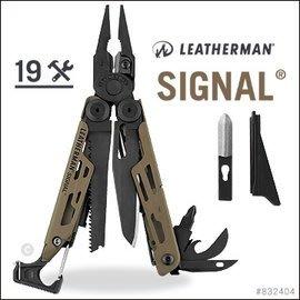 【ARMYGO】Leatherman 限定版Signal Topo 綠工具鉗 (#832692)