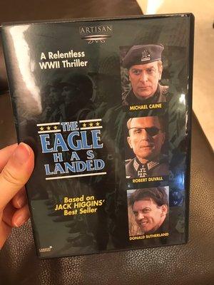 THE EAGLE HAS LANDED 天將雄鷹 猛鷹突擊兵團   DVD 非出租店出售 無中文字幕