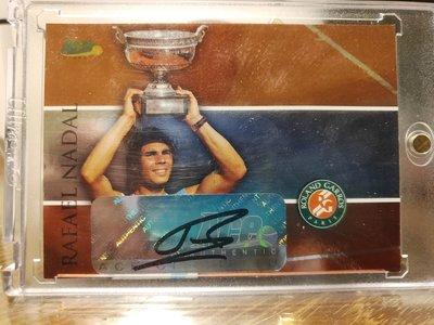 (記得小舖)Rafael Nadal 西班牙蠻牛 2008 ACE Authentic 親筆簽名卡 台灣現貨 稀少值得收