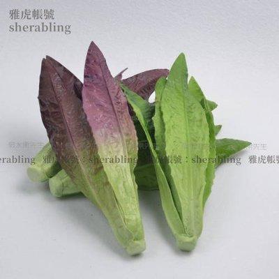 (MOLD-A_219)高仿真蔬菜假水果食品模型菜模 飯店裝飾品 仿真Pu油麥菜