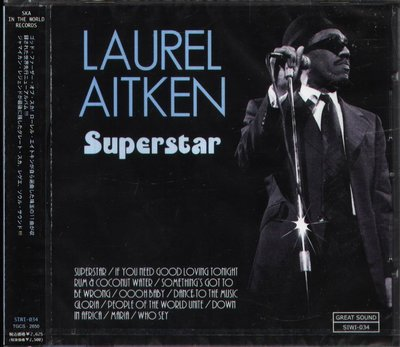 K - LAUREL AITKEN - SUPERSTAR - 日版 - NEW