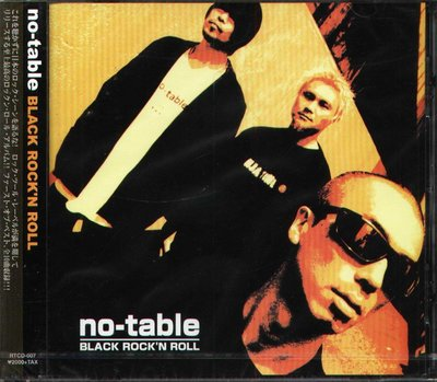 K - no-table - BLACK ROCK'N ROLL - 日版 - NEW