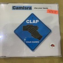 *還有唱片行*CAMISRA / CLAP YOUR HANDS 全新 Y9519 (69起拍)