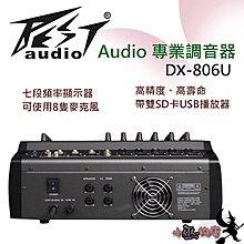 「小巫的店」*(DX-806U)BEST調音台+內建300W‥8支有線麥克風 舞台活動.誦經 降價優惠特賣