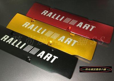 三菱RALLIART 鋁合金引擎飾板/火星塞飾板/ FORTIS/ OUTLANDER/4B10/4B11/4B12