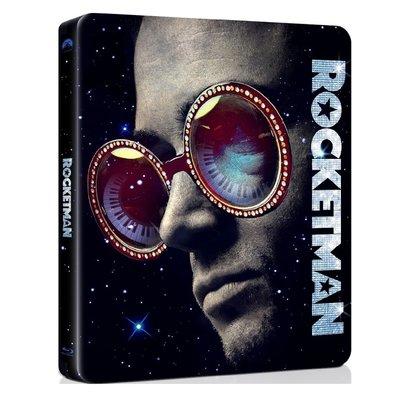 迷俱樂部|火箭人 [藍光BD] 4K UHD+BD 雙碟鐵盒版 美版 Rocketman 奧斯卡最佳電影歌曲