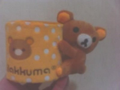 全新拉拉熊懶懶熊手機座也可當筆筒