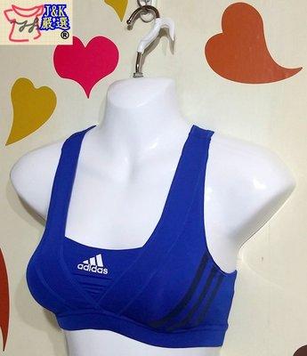 愛迪達 Adidas Infinite 運動 內衣 背心 有氧 路跑climacool款-藍-尺寸:S【J&K嚴選】LV 新北市