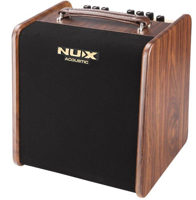 【 免運 公司貨 】NUX STAGEMAN 木吉他音箱 Ac-50 50瓦 木吉他音箱 原廠公司貨 一年保固