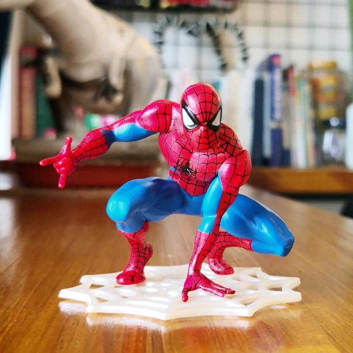 白網蜘蛛人擺飾 超凡勇士蜘蛛人公仔模型 蜘蛛人汽車擺件車內飾品 蛋糕烘焙裝飾用品 生日禮物