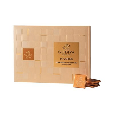 (缺貨中勿下標)請先詢問[要預購] 英國代購 比利時GODIVA 牛奶巧克力禮盒 36片