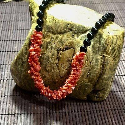 紅珊瑚項鍊 海底珍貴寶物
