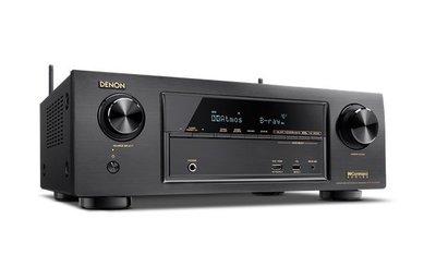 《鴻韻音響影音生活館》DENON AVR-X1300W AV收音擴大機