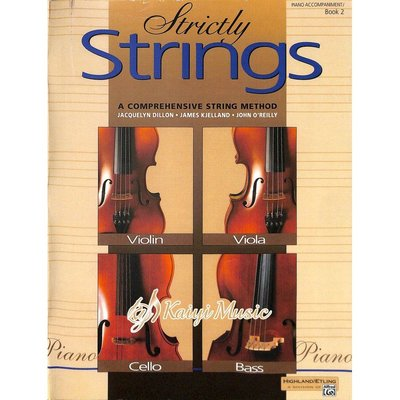 Kaiyi Music 【Kaiyi Music】Strictly Strings piano accompaniment book 2