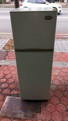 【二手倉庫-崇德店】二手家具*TATUNG大同二門冰箱-250L 雙門冰箱 中古電冰箱 250公升 台中二手家電買賣