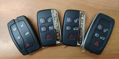 LAND ROVER JAGUAR 汽車遙控晶片鑰匙 外殼 電池