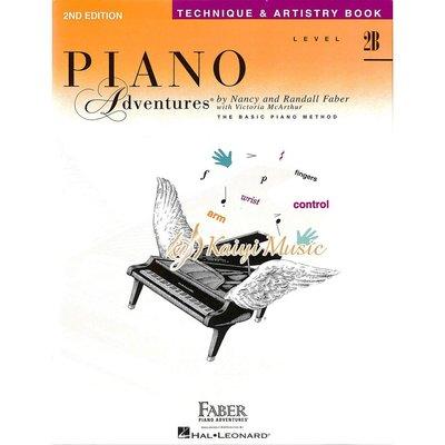 Kaiyi Music ♫Kaiyi Music♫芬貝爾鋼琴技巧2BFaber Piano Technique&Artistry level2B
