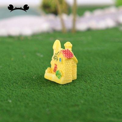 滿250發貨)SUNNY雜貨-迷你小別墅 微景觀裝飾 建筑模型材料沙盤DIY手工擺件#模型#建築材料#DIY