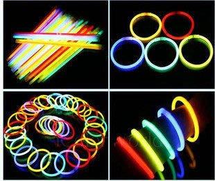 螢光棒 (200*5mm) 手環 發光棒 閃光棒 單色 混色 演唱會 露營 晚會 夜遊 排字【A330001】