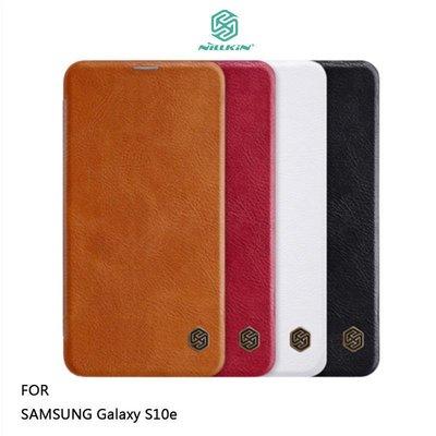 *phone寶*NILLKIN SAMSUNG Galaxy S10e 秦系列皮套 側翻皮套 可插卡 超薄皮套 保護殼