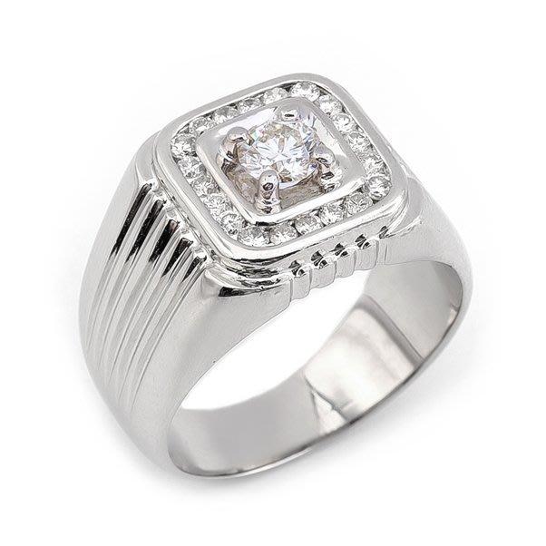 【JHT 金宏總珠寶/GIA鑽石專賣】0.30ct天然鑽石戒指/材質:14K(D000059)