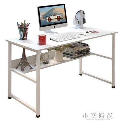 簡易電腦桌台式家用簡約現代經濟型書桌寫字台辦公桌子學生學習桌 小艾時尚NMS 全館免運 全館免運