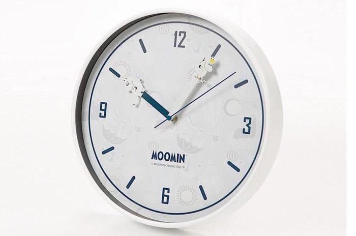 Moomin 嚕嚕米 北歐簡約插畫時鐘