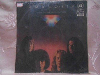 【采葳音樂網】-西洋黑膠–AMBROSIA〝SOMEWHERE I'VE NEVER TRAVELLED〞1218