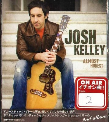 (甲上唱片) Josh Kelley - Almost Honest - 日盤+2BONUS