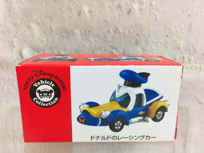 【Dona日貨】日本迪士尼樂園限定 Tomy Tomica 唐老鴨  賽車/小汽車 B20