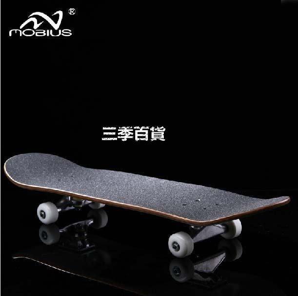 三季滑板 Mobius莫比斯專業四輪滑板 代步公路滑板 成人滑板 基礎滑板 送滑板包+專用工具 ❖787