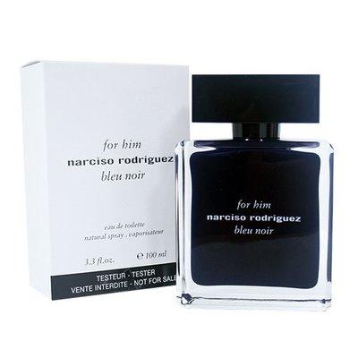 ☆MOMO小屋☆Narciso Rodriguez bleu noir 紳藍 男性淡香水 100ml TESTER環保盒