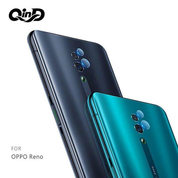 --庫米--QinD OPPO Reno / Reno 10 倍變焦版 鏡頭玻璃貼(兩片裝) 鏡頭保護貼 硬度9H