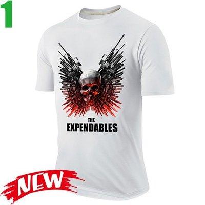 【浴血任務 The Expendables】短袖經典電影系列T恤(共3種顏色可供選購) 任選4件以上每件400元免運費!