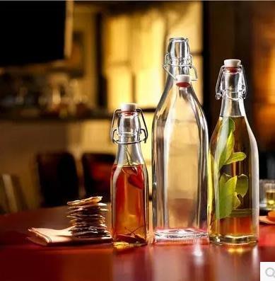 ~蘇菲亞精品傢飾~義大利進口loft工業風玻璃密封罐水瓶飲料罐醃製瓶調味罐水壺