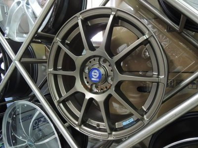 ╭☆輪鋪☆╯全新 (正) SPARCO assetto 16吋4孔100-5孔114.3 鈦金鋁圈-詢價