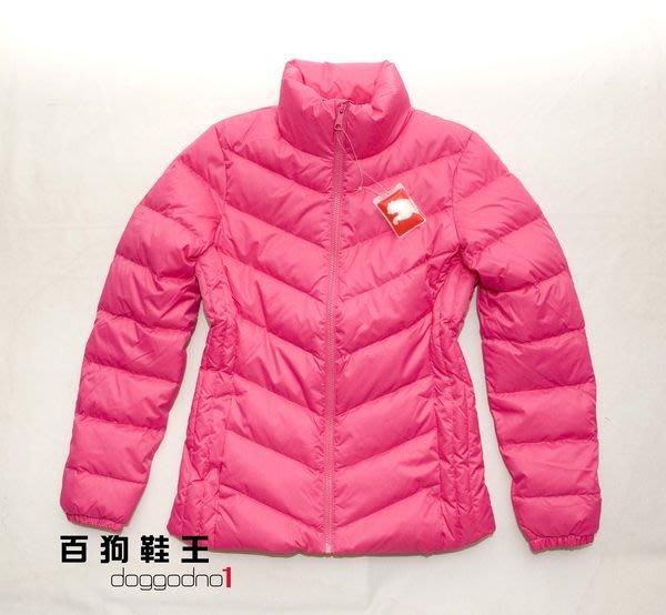 百狗衣舖,PUMA 單品系列素色立領羽絨外套.粉色